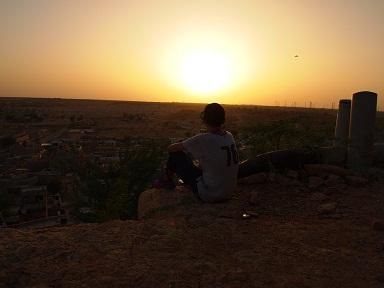 ジャイサルメールの夕陽.jpg